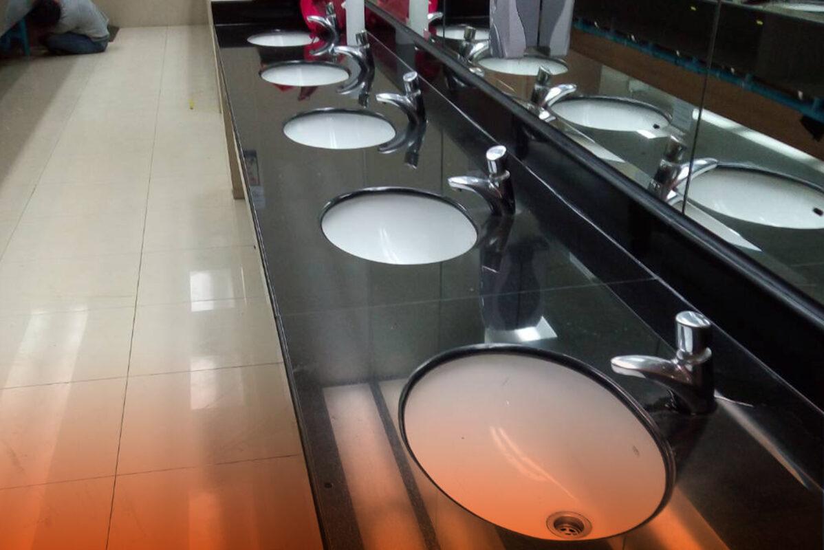 อ่างล้างมือตัน